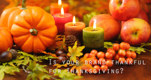 Branding on Thanksgiving