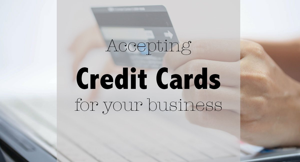 What you need to accept credit cards checklist ag for Need business credit cards