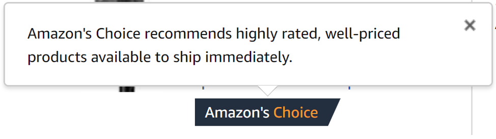 Amazon Choice