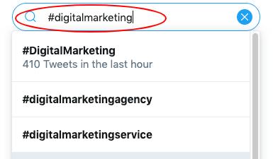 using hashtags for social media marketing