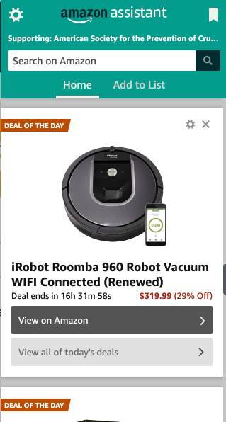 Amazon's virtual assistant