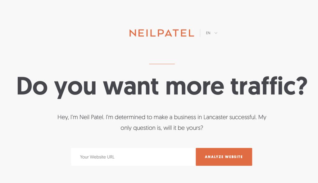 Neil Patel CTA
