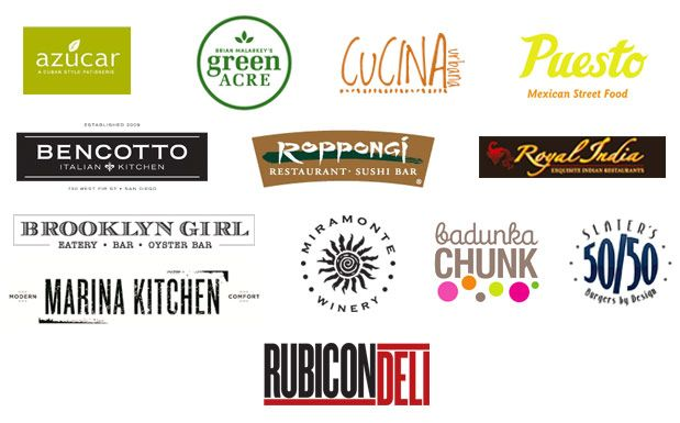 example of restaurant logos