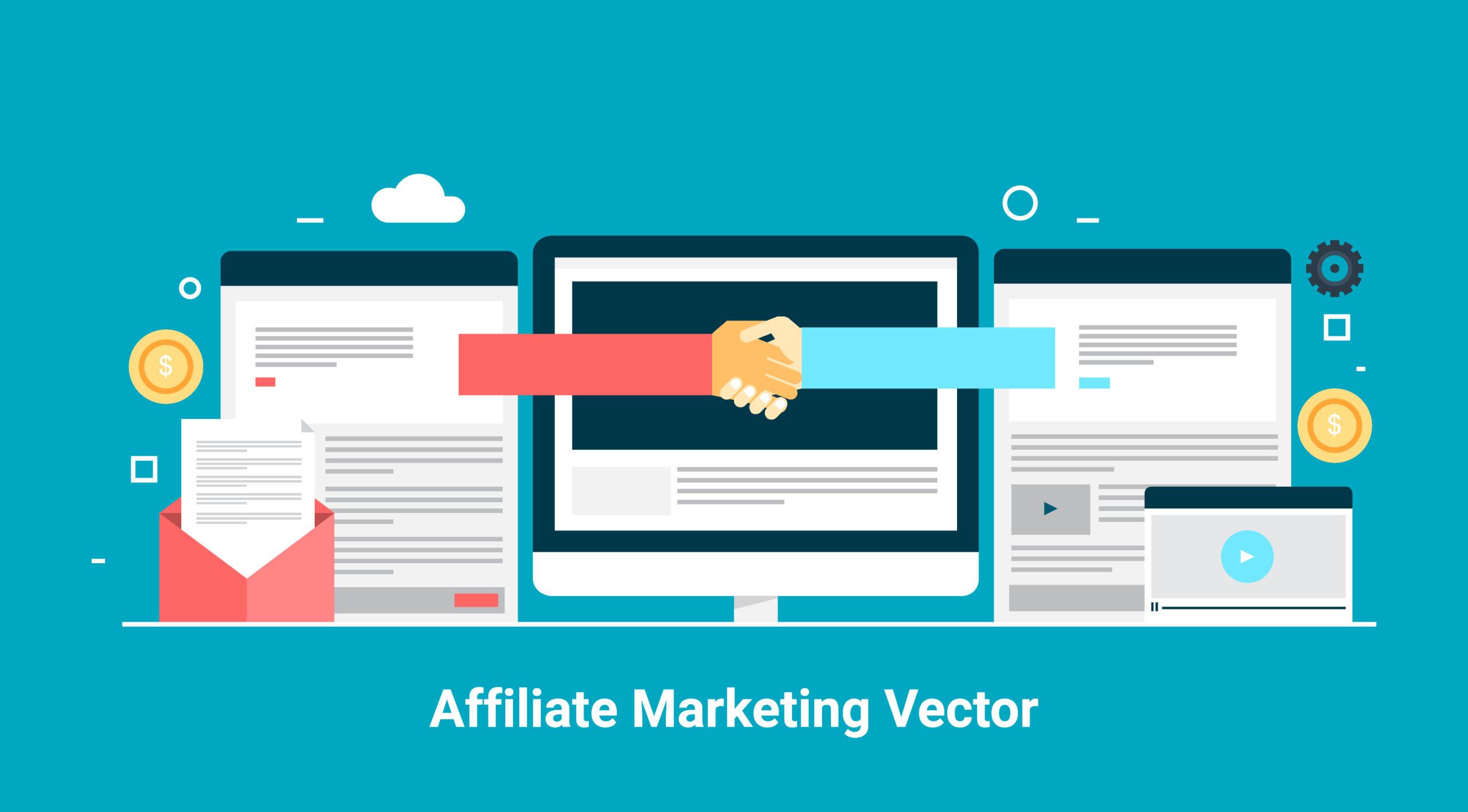 Influencer and affiliate marketing