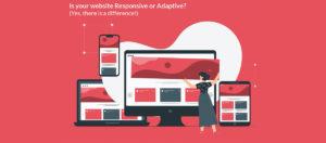adaptive vs responsive website