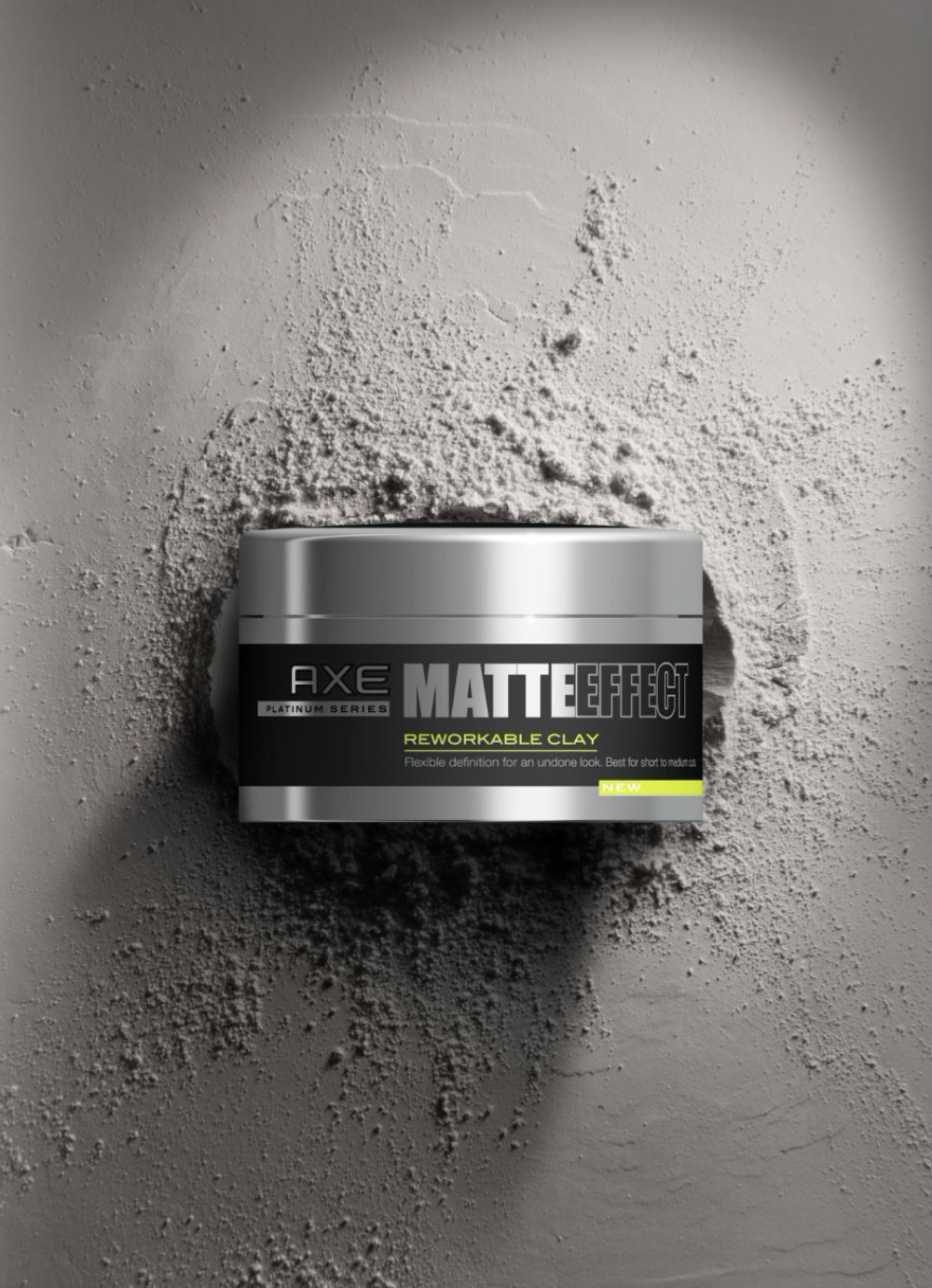 Example of 3D graphic design from Axe